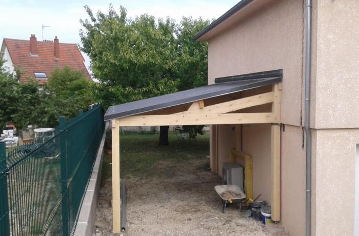 Création d\'un abri de jardin sur mesure à Auxerre dans l\'