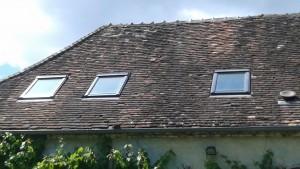 Isolation de combles d'une maison de campagne dans l'Yonne