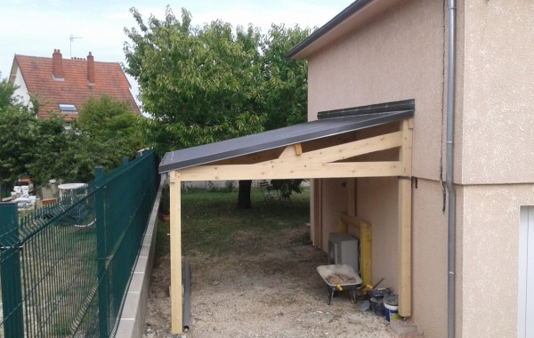 Création d'un abri de jardin sur mesure à Auxerre dans l'Yonne