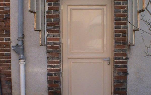 Porte PVC ivoire